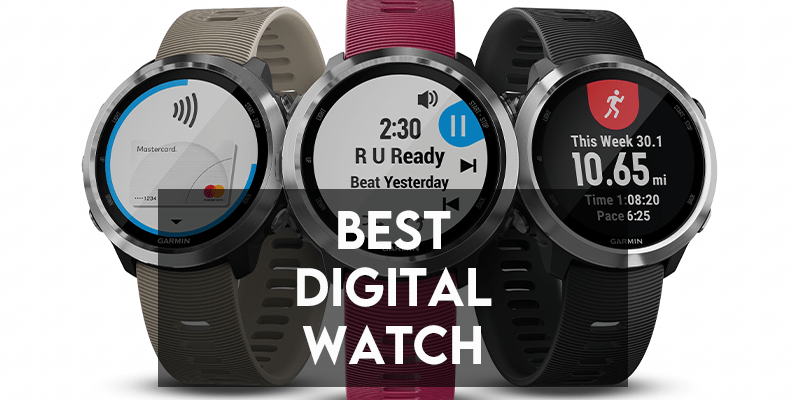 best digital watch