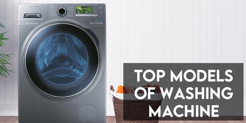 top models of washing machine