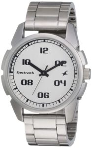Fastrack Casual Analog Silver Dial Men's Watch