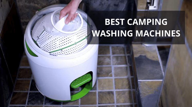 camping washing machines