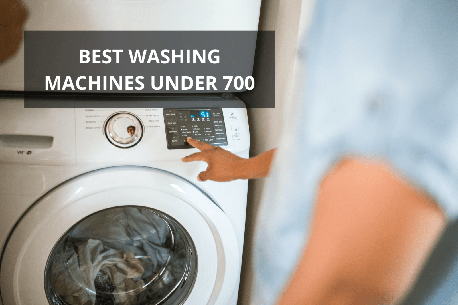 best washing machine in 700