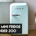 5 Best Mini Fridge Under $200 in 2021【Reviewed】